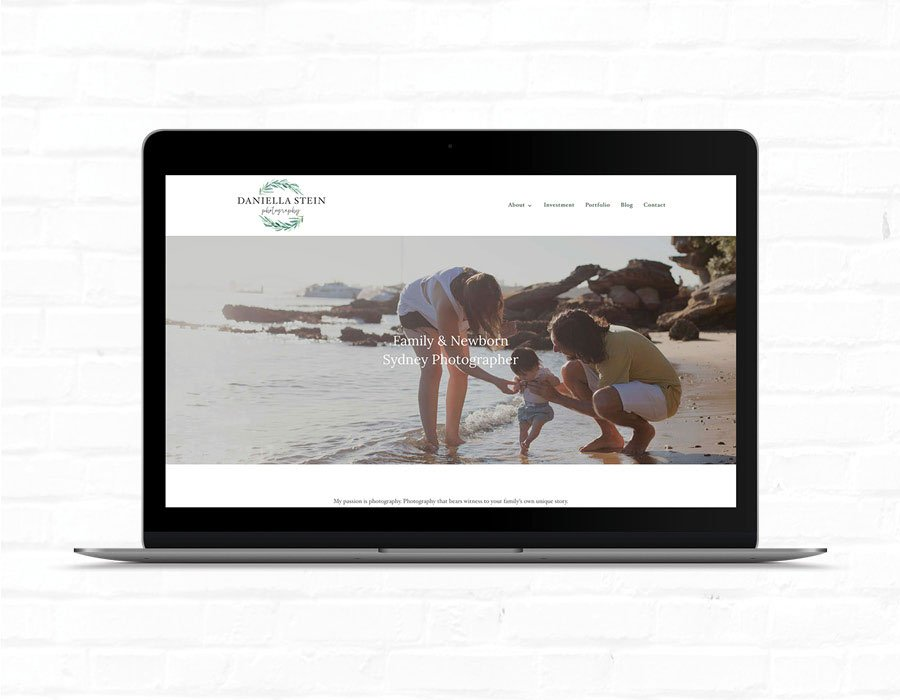 Daniella Stein Photography Website Design | Web Design Eastern Suburbs, Hornsby, Sydney | SEO