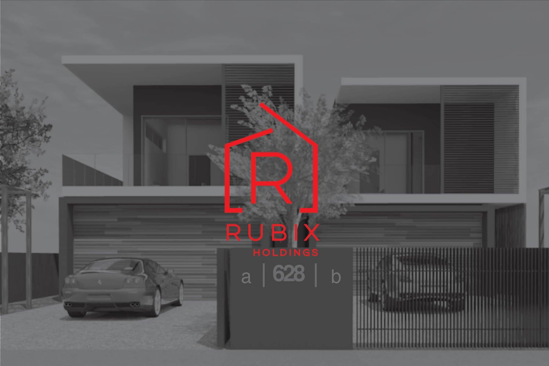 Construction Web Design | Rubix Holdings | Sydney Construction Logo Design | Logo Designer | Web Designer | Website | Builder Logo | Sophisticated Logo | Parramatta